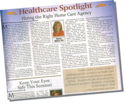 Article - Hiring the Right Home Care Agency